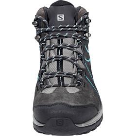 Salomon Ellipse 2 Mid LTR GTX Shoes Women Phantom/Castor Gray/Aruba Blue